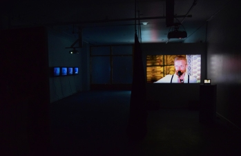 Sound Etiquette (Installation View). Photo courtesy of Scott Kedy.